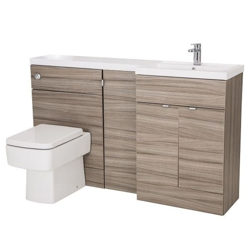 Elite Driftwood 1500mm Combination Furniture Pack - Right Hand